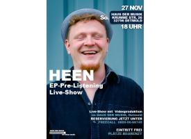 EP-Pre-Listening Live Show mit HEEN