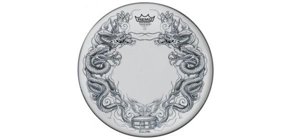 "Schlagzeugfell Tattoo Skyn Suede 13"" Tattoo Dragon Skyn TT-0813-AX-T06"