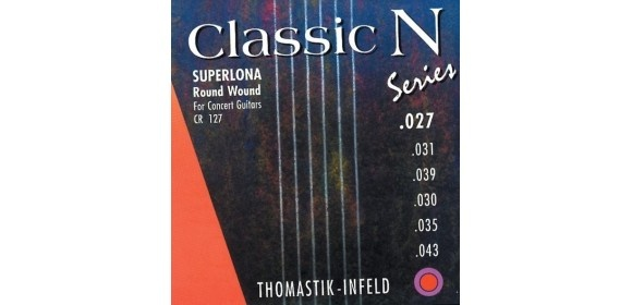 Thomastik Saiten für Klassik-Gitarre Classic N Series. Superlona Light H2 .031