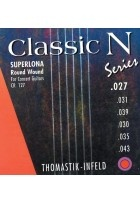 Thomastik Saiten für Klassik-Gitarre Classic N Series. Superlona Light E1 .027