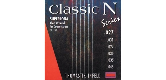 Thomastik Saiten für Klassik-Gitarre Classic N Series. Superlona Light E6 .045