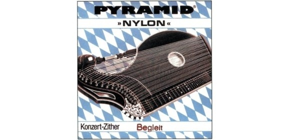 Pyramid Saiten für Zither Nylon. Konzertzither B 2.