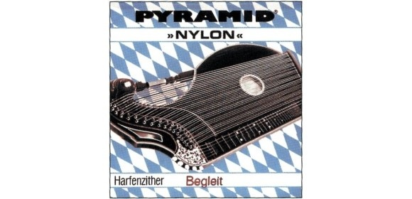 Pyramid Saiten für Zither Nylon. Harfen-/Luftresonanz-Zither Cis 11.