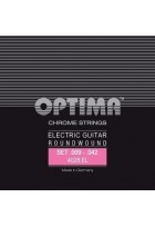 Optima Saiten für E-Gitarre Chrome Strings Round Wound E.009