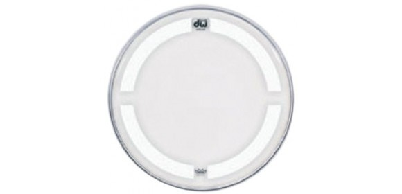 Bassdrum Fell Coated clear 28""