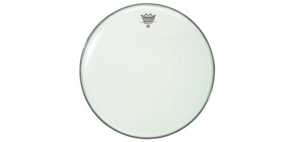 "Schlagzeugfell Ambassador Weiß glatt 18"" BA-0218-00"