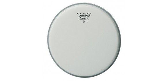 """Schlagzeugfell Vintage A Weiß aufgeraut 18"""" VA-0118-00"""