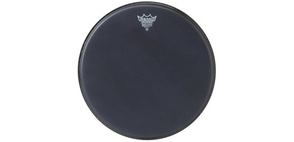 "Schlagzeugfell Ambassador Black Suede 6"" BA-0806-ES"