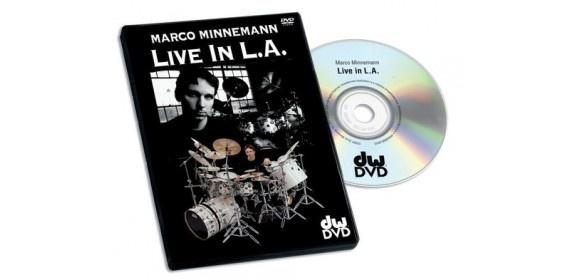 DVD Marco Minnemann Live in L.A