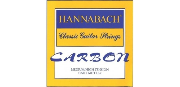 Klassikgitarrensaiten CARBON Medium / High Tension Diskant H/B2