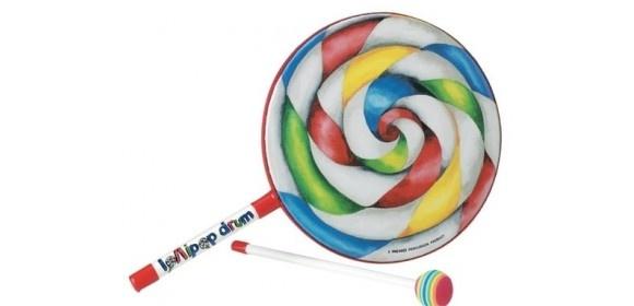 """Kid´s Percussion Lollipop Drum 8x1"""" ET-7108-00"""