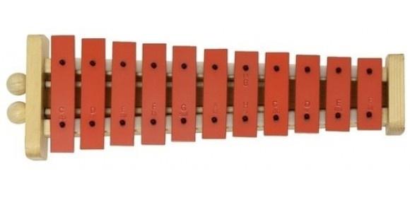 Glockenspiel G11 G11R Rote Klangplatten