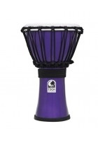 Djembe Freestyle Colorsound Metallic Rot