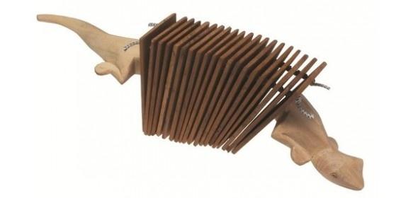 Sound Effekte Gecko Wooden Clacker Holz