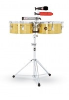 "Timbales Tito Puente Solid Brass 14""/15"""