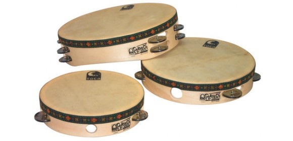 Tambourine Player's Series Wood 9""