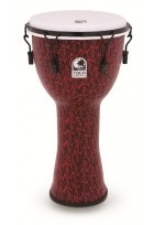Djembe Freestyle II Mechanically Tuned Red Mask
