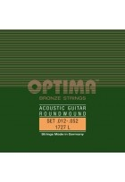 Optima Saiten für Akustikgitarre Bronze Strings E1 .012