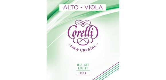Corelli Saiten für Viola New Crystal Light