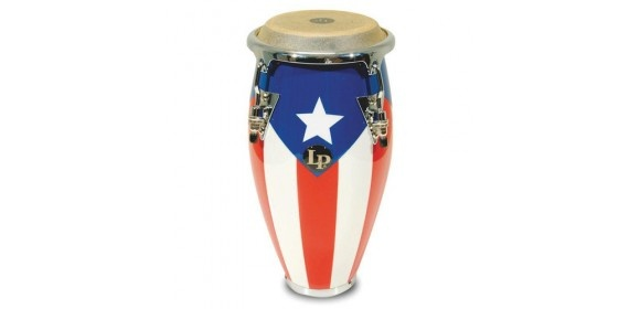 Conga Mini Tunable Puerto Rican Flag