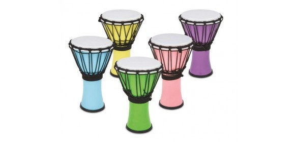 Djembe Freestyle Colorsound Pastel Pastel Yellow