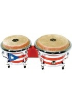 Bongo Mini Tunable Puerto Rican Flag