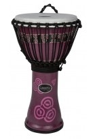 "Djembé Liberty Series Rope Tuned 14"" Abstract Bali Purple"
