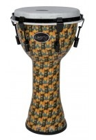 "Djembé Liberty Series Mechanically Tuned 12"" Abstract Kente"