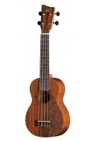 Sopran Ukulele Manoa Kaleo Tattoo KT-SO-INCA Sopran