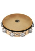 "Tambourin Pro 10in Double Row With Head 10"" Messing/Bronze"