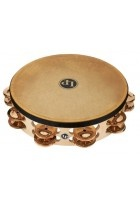 "Tambourin Pro 10in Double Row With Head 10"" Bronze"