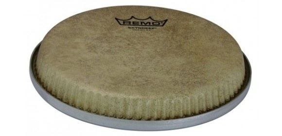 "Percussionfell Skyndeep Calfskin Bongo Low Collar R-Series 7,15"" M3-R715-S4-SD003"