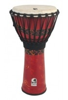 Djembe Freestyle Rope Tuned Bali Red
