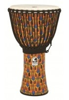 Djembe Freestyle Mechanically Tuned Kente Cloth