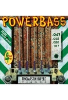 E-Bass Saiten Power Bass Magnecore Satz 4-str. long
