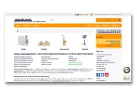Neue flexible, übersichtliche und attraktive Website