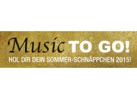 Music TO GO: Hol Dir Dein Sommer-Schnäppchen 2015!