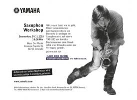 Workshop: In nur 2 Stunden ein Hit auf dem Saxophon