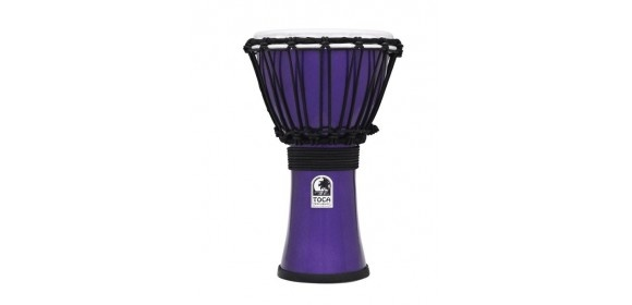 Djembe Freestyle Colorsound Metallic Gelb