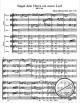Notenbild für BA 5129 - SINGET DEM HERRN EIN NEUES LIED BWV 225
