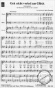Notenbild für IRIS 1749-13 - GEH NICHT VORBEI AM GLUECK