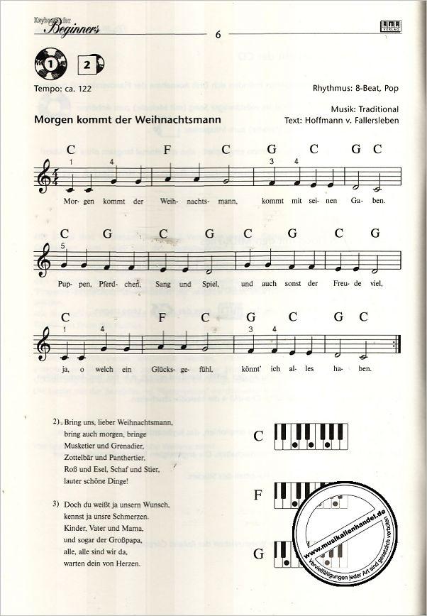 Schöne Weihnachtslieder.Keyboard For Beginners Die 20 Schoensten Weihnachtslieder
