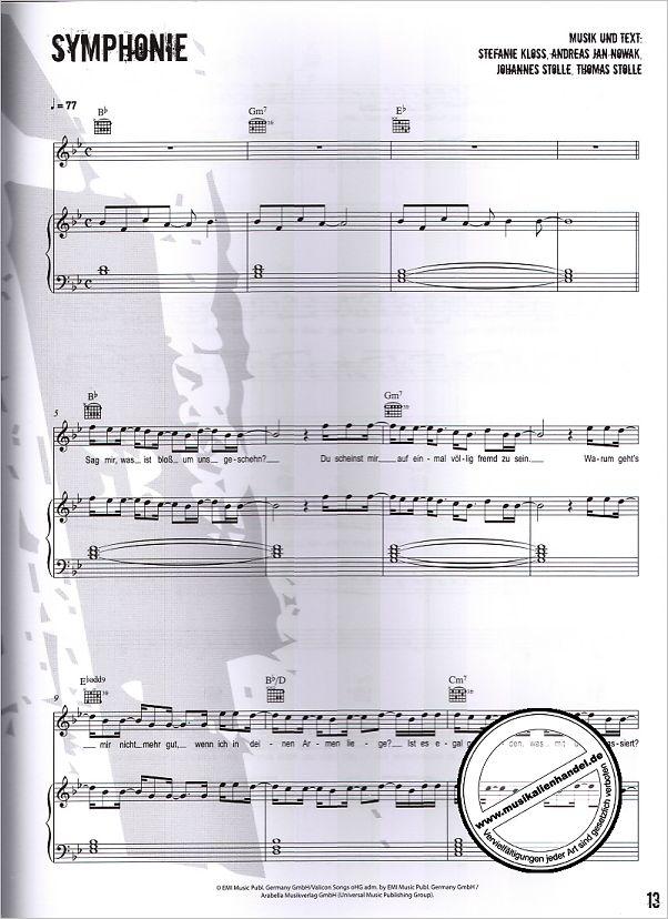 silbermond das liederbuch