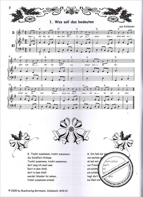 Schöne Weihnachtslieder.Advents Weihnachtslieder