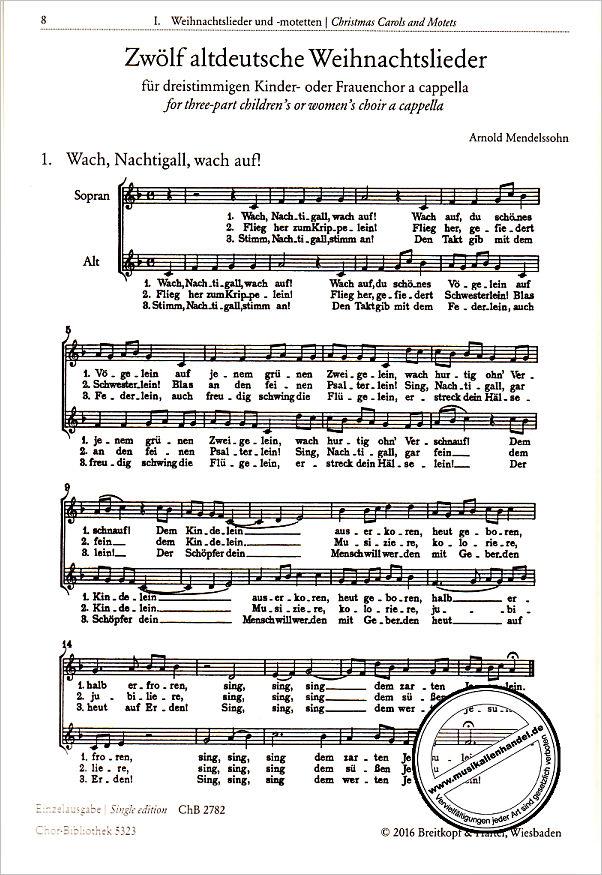 CHORBIBLIOTHEK - von - EBCHB 5323 - Noten
