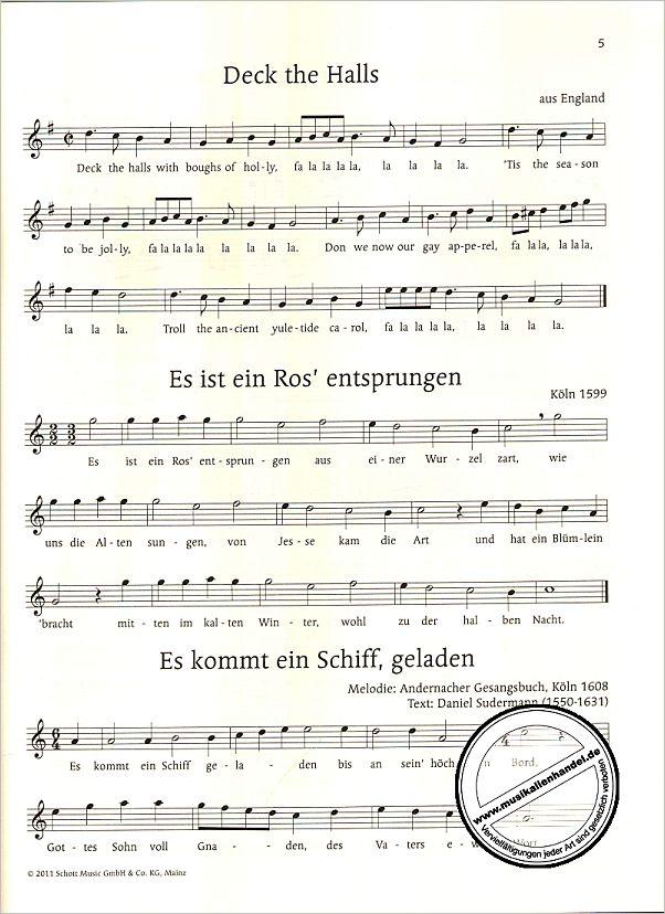 ALLE JAHRE WIEDER - DIE SCHOENSTEN WEIHNACHTSLIEDER - von Korn Uwe ...