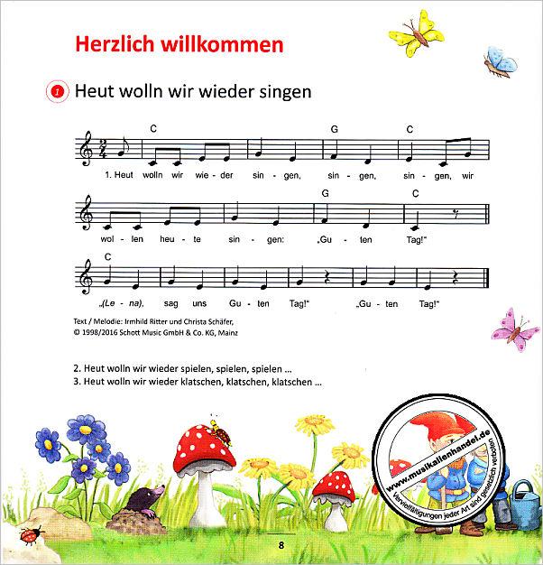 Lieder Aus Der Klangstrasse Von Schaefer Christiane Ed 22456 Noten
