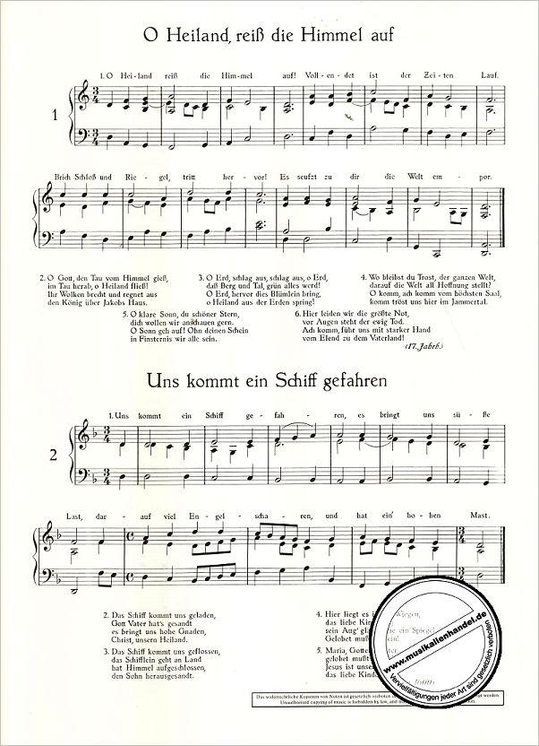 SUSANI - ALTE WEIHNACHTSLIEDER - von Schroeder Hermann - ED 3882 - Noten