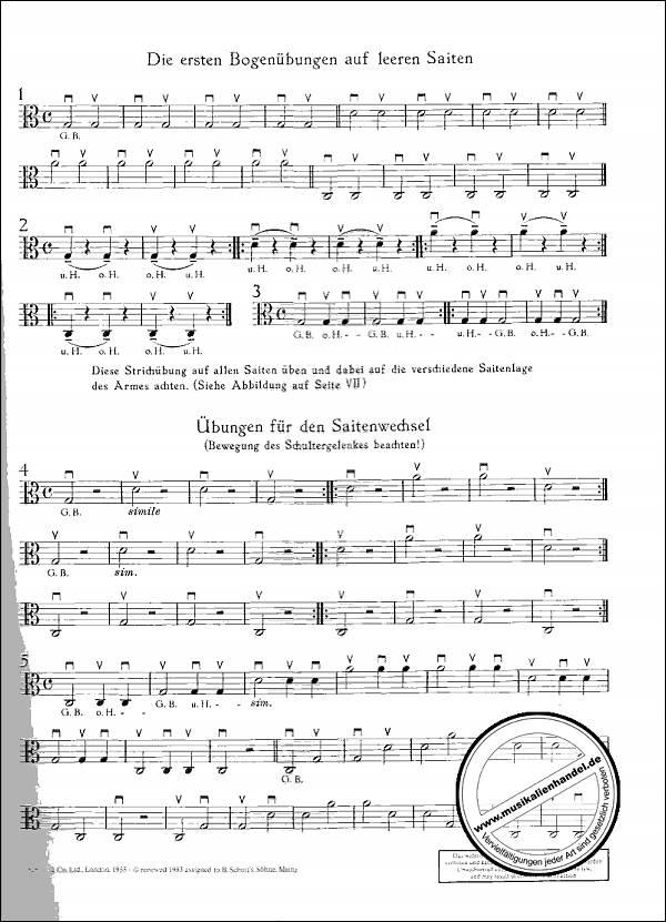 ED 4613-9783795751982 Viola Musiknoten von Volmer Berta Bratschenschule 1
