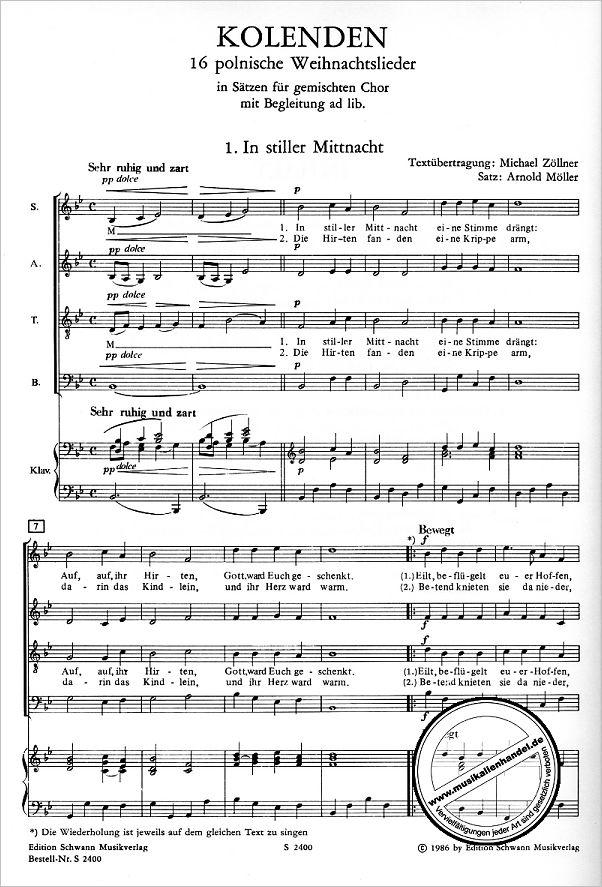 Polnische Weihnachtslieder Texte.Kolenden 16 Polnische Weihnachtslieder